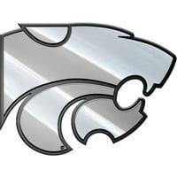 NCAA Kansas State Wildcats Metal Emblem, MEU028