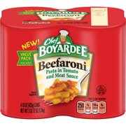 (3 pack) Chef Boyardee Beefaroni, 15 oz, 4 Pack