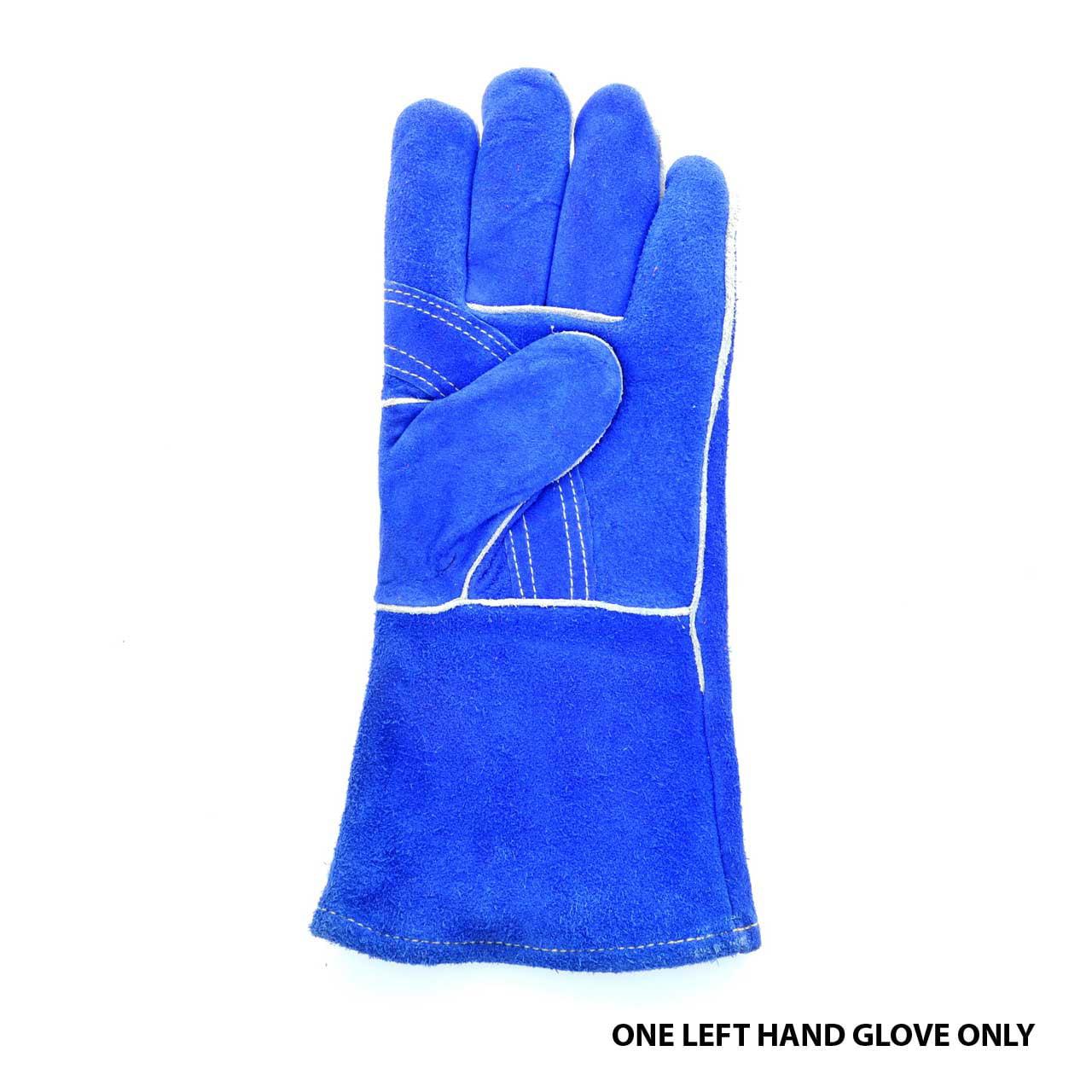 Tillman 1018 Slightly Select Cowhide Welding Gloves, Left Hand Only, Large