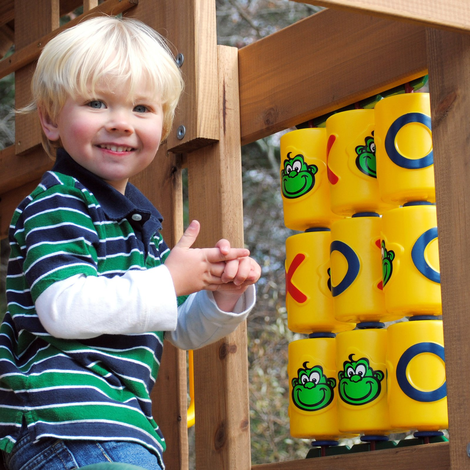 Playtime Swing Sets Tic-Tac Toe Panel - Yellow