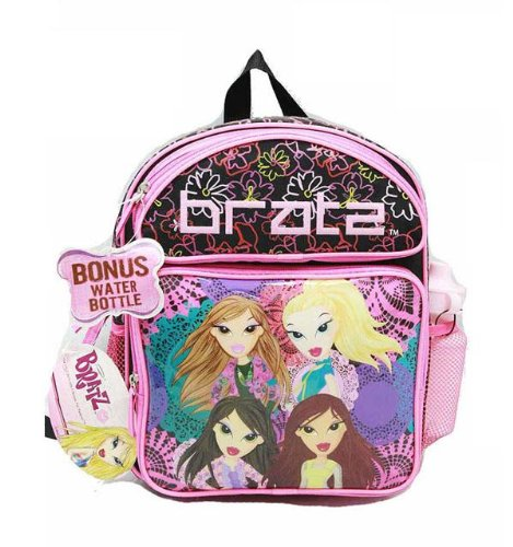 Small Backpack - - w/ Water Bottle - 4 Girls New School Bag bhk000622
