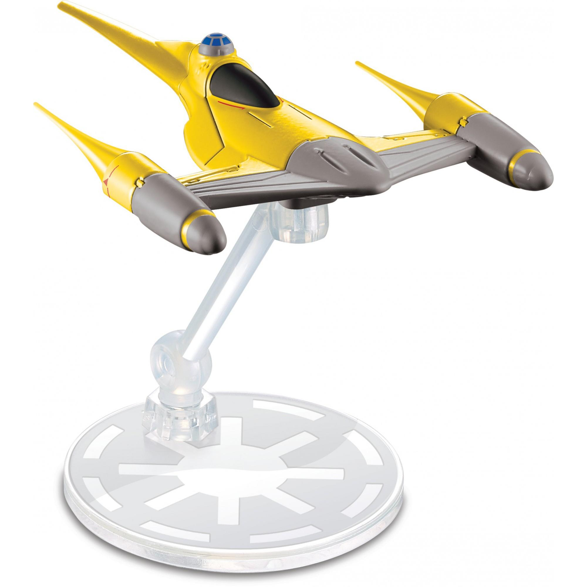 Hot Wheels Star Wars Starships Naboo Starfighter Vehicle