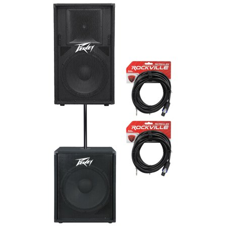 peavey pv115 15 800w pa speaker pv118 18 subwoofer. Black Bedroom Furniture Sets. Home Design Ideas