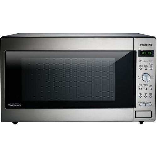 Panasonic 23'' 2.2 cu.ft. Countertop/Built-In Microwave w...