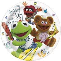 The Muppet Babies Lunch Plates (8 Pack - 9 Inches)