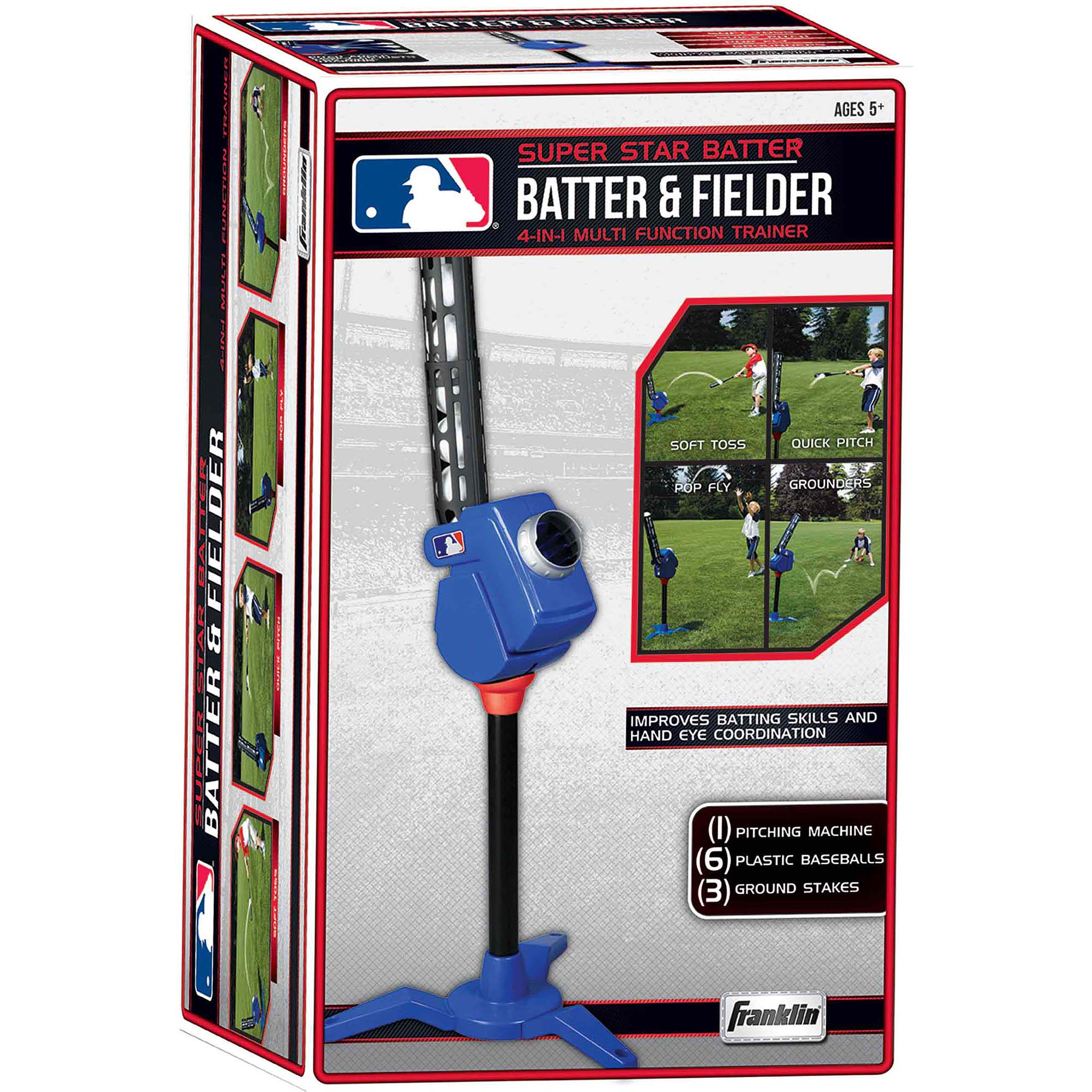 Franklin Sports MLB 4-In-1 Pitching Machine
