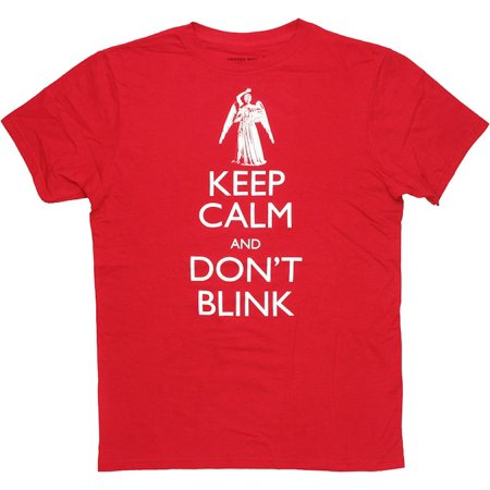 Blink 182 Halloween Shirt (Doctor Who Keep Calm Don't Blink Angel T Shirt)
