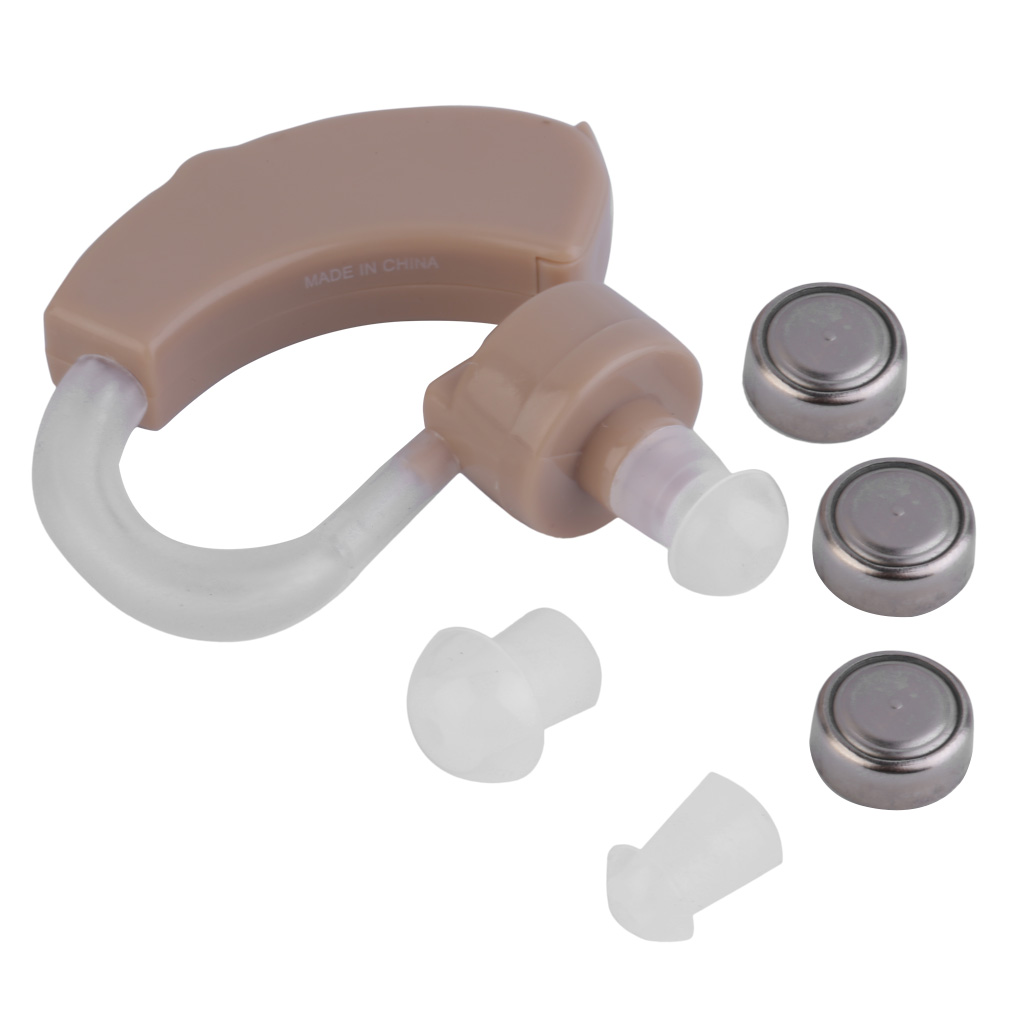 Behind the Ear Hearing Amplifier Hearing Aid Enhancer Sound Amplifier New