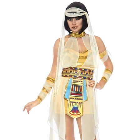 Leg Avenue Womens Cleopatra Nile Mummy Costume