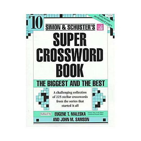 Simon   Schusters Super Crossword Book   10