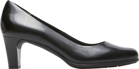rockport women's total motion black melora plain dress pump, black motion burn, 6.5 m us 1b820e