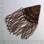 Expo Int'l Triangle With Fringe Applique