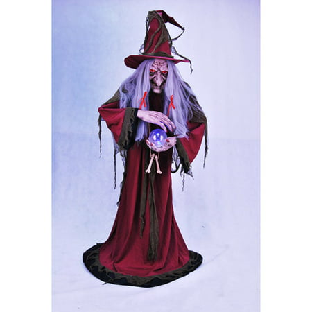 Animated Ultimate Evil Helga Halloween Fortune Teller  56