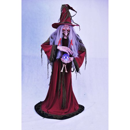 Animated Ultimate Evil Helga Halloween Fortune Teller, - Animated Halloween