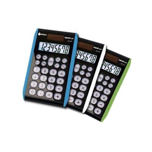 3 pcs - 8 digit Hybrid Slim Line Handheld Calculator DXXDH100X3