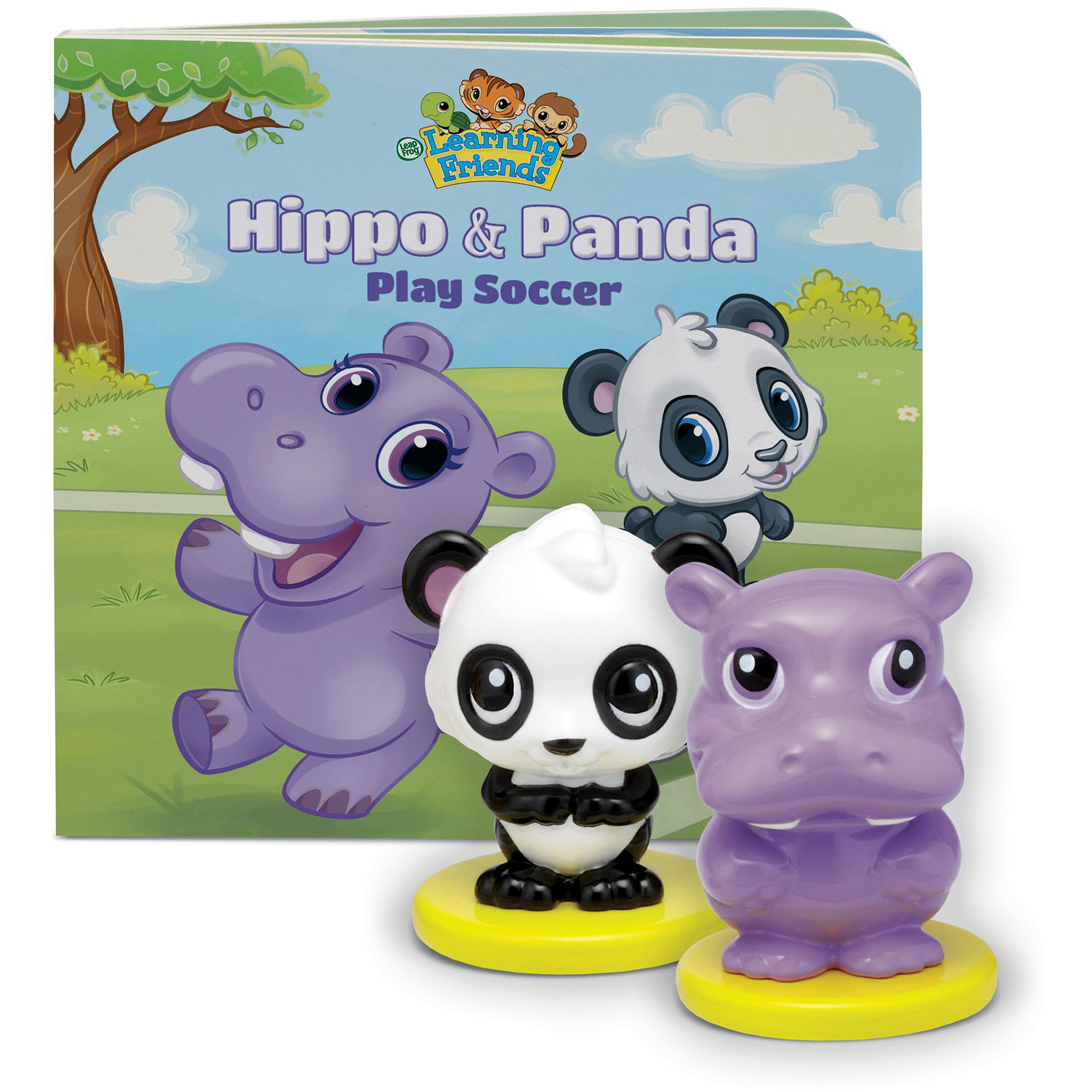 LeapFrog Learning Friends Hippo & Panda Figures with Board Book by LeapFrog