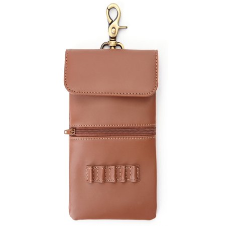 Royce Leather Pocketbook (Royce Leather Genuine Leather Executive Clip On Golf Accessory Bag )