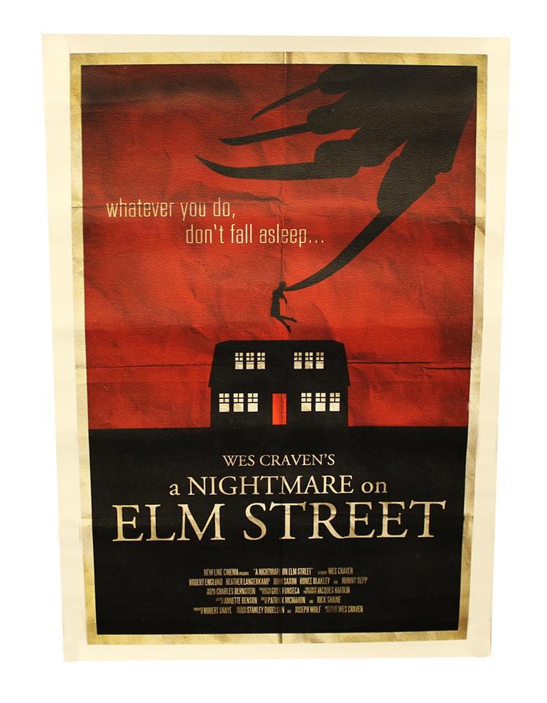 Freddy Krueger Nightmare on Elm Street Wes Craven Fan Art Print Poster 11x17