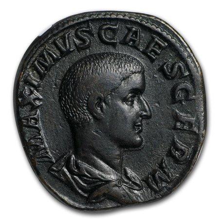 Roman Ae Sestertius Maximus  235 238 Ad  Xf Ngc