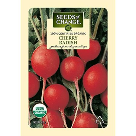 Image of Seeds of Change Certified Organic Radish, Cherry - 3 grams, 250 Seeds Pack