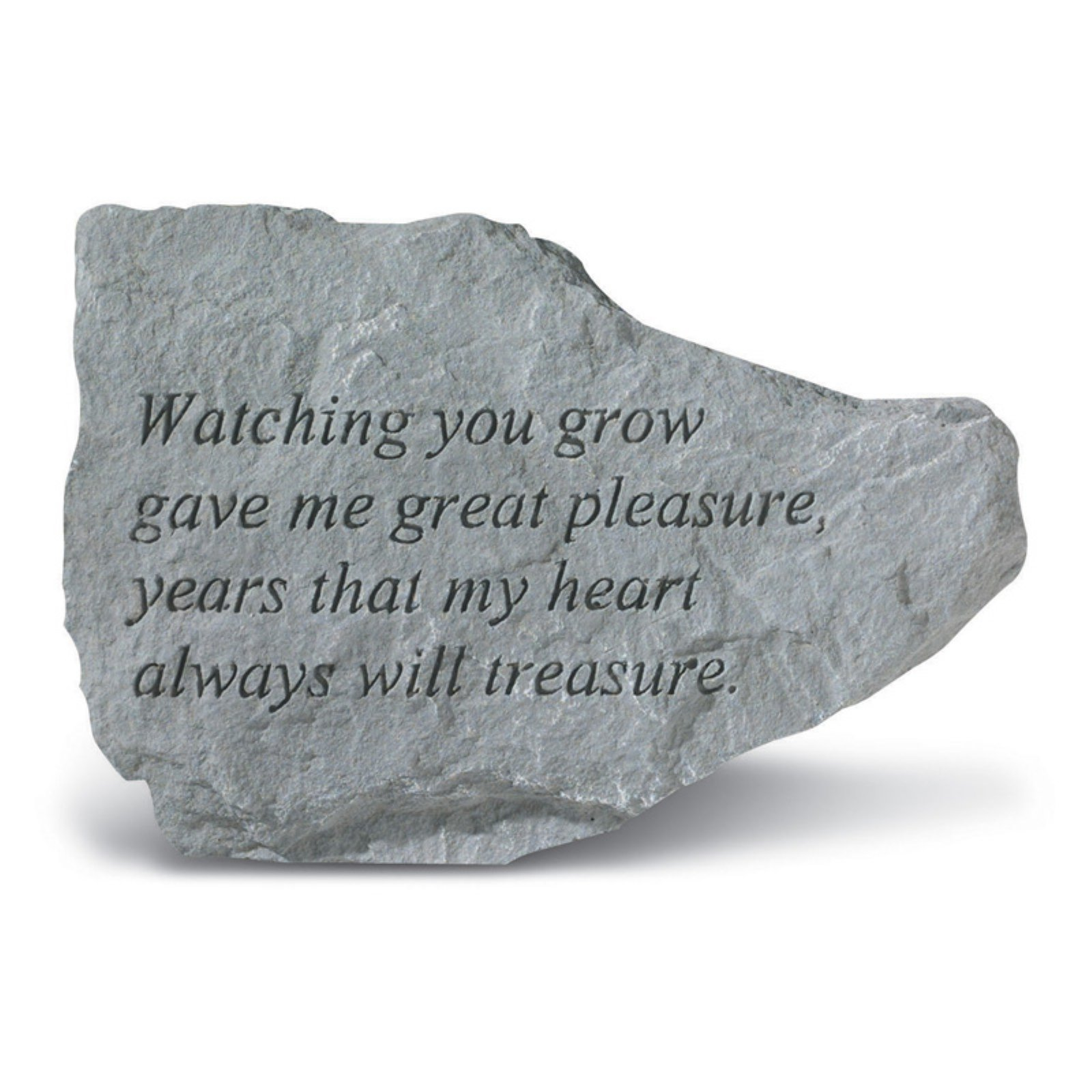 Watching You Grow Garden Accent Stone by Kay Berry