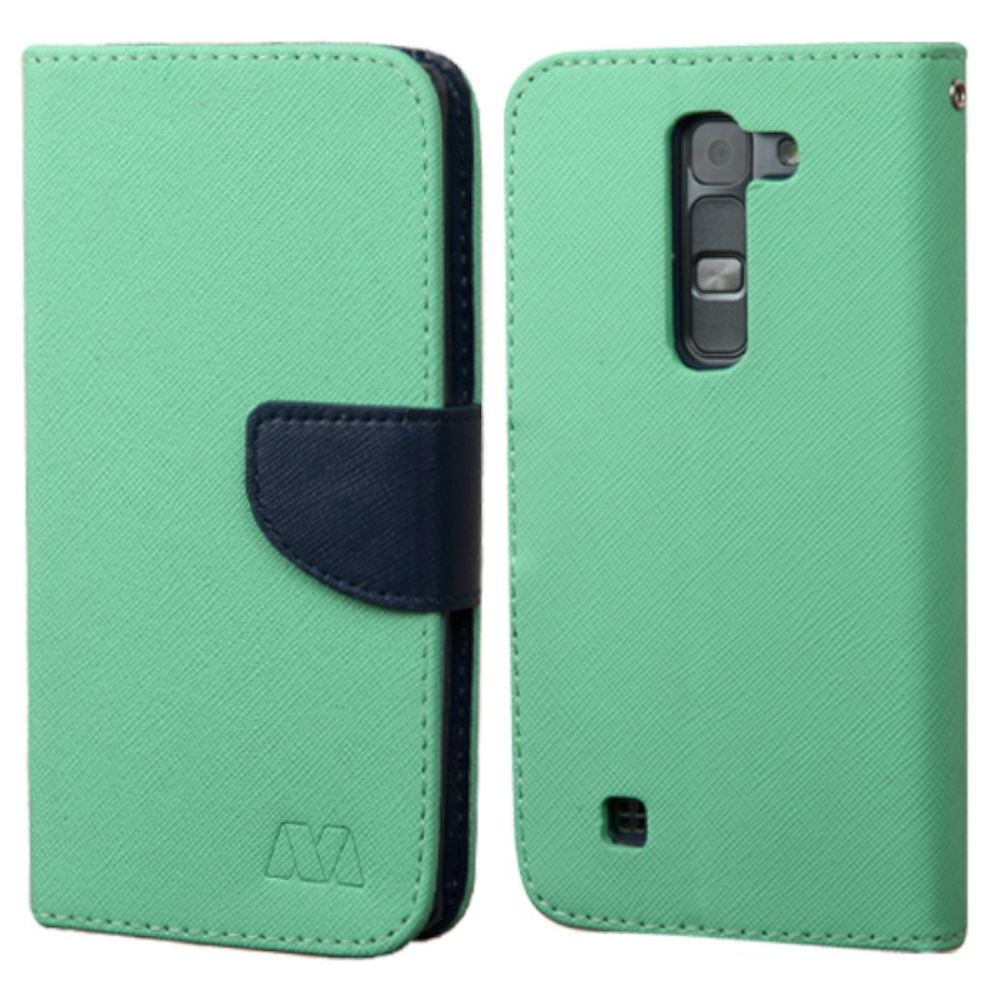 LG Volt 2 Phone Case, LG Volt 2 Case, by Insten Flip Leather Cover Case with card slot For LG Magna/Volt 2 case cover - image 2 de 3
