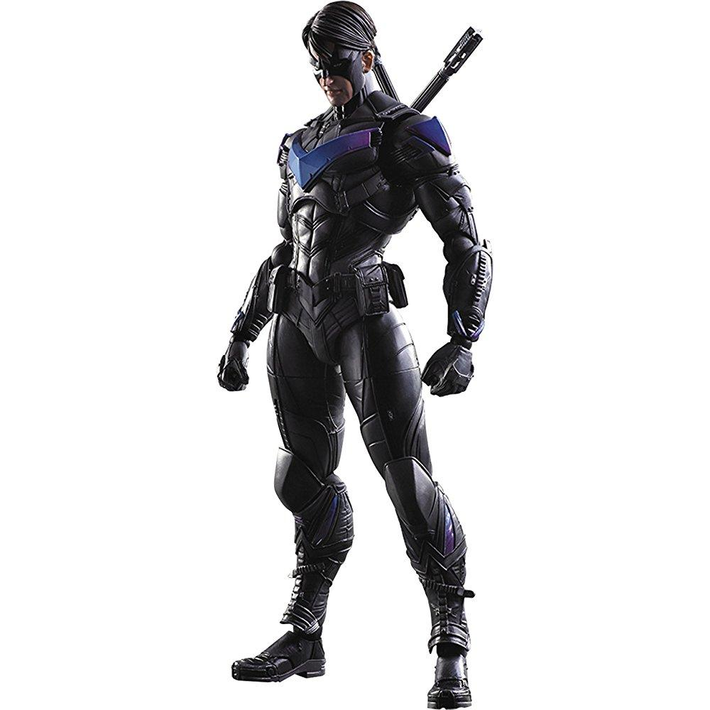 square enix batman: arkham knight: nightwing play arts kai action figure