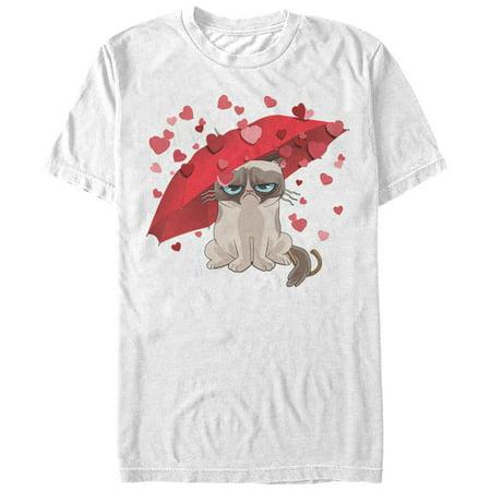 Grumpy Cat Men's Raining Hearts T-Shirt](Grumpy Cat Halloween Memes)