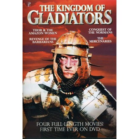 Kingdom Of Gladiators: Thor & The Amazon Women / Conquest of Normans / Revenge Of The Barbarians / The Mercenaries - Barbarian Woman