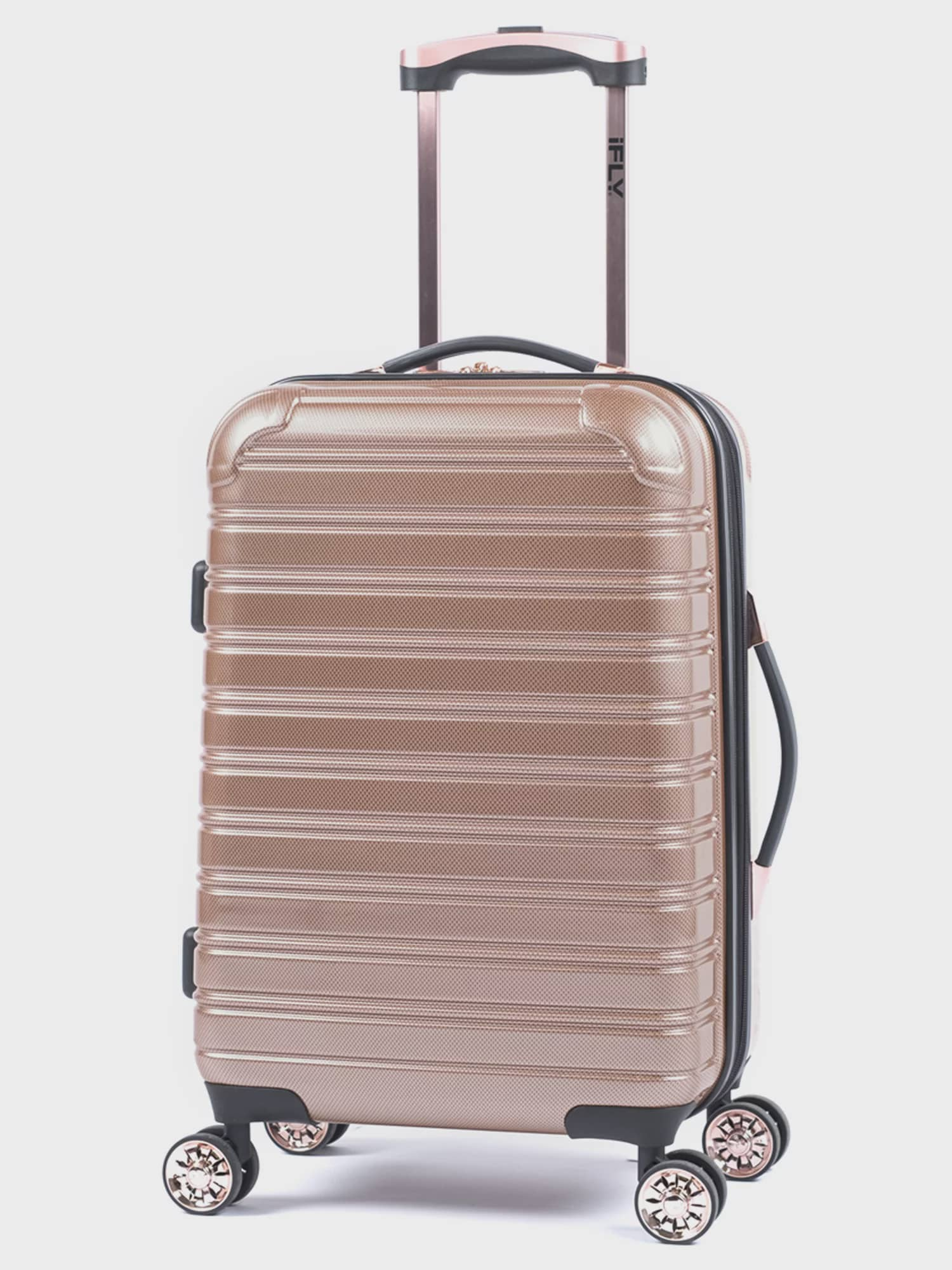 iFLY Hardside Fibertech Carry On Luggage, 20""