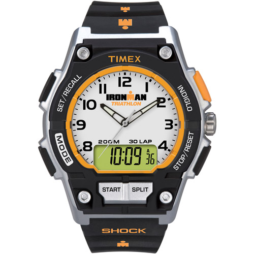 Timex men's ironman endure combo shock 30-lap watch #t5k200