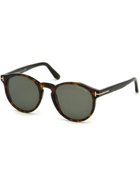 f08106f8b925 Product Image Tom Ford FT 0591 Sunglasses 52N Dark Havana   Green