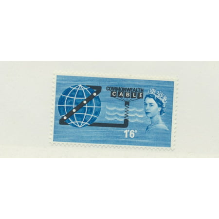Great Britain Scott #401 - Pacific Cable Service Issue From 1963 - Collectible Postage (Issue Stamp Cover)