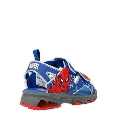 Spiderman Light Up Active Sandal (Toddler Boys)