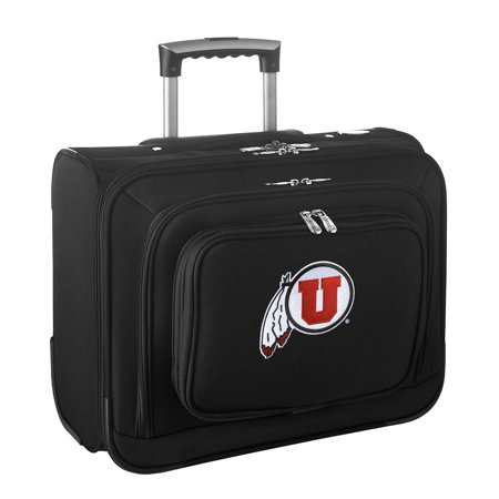 Denco NCAA Wheeled Laptop Overnighter, Utah