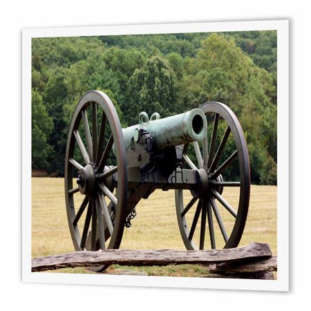 Star Wars Iron On Transfers - 3dRose Civil War Cannon, Iron On Heat Transfer, 10 by 10-inch, For White Material