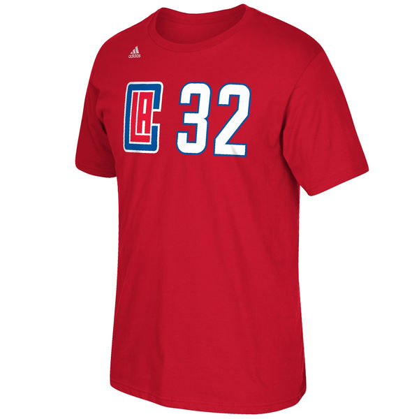 Los Angeles Clippers Blake Griffin Adidas NBA New Logo Player T Shirt Red S