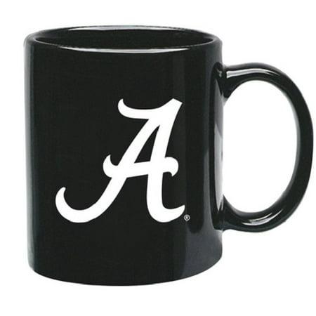Alabama Crimson Tide NCAA Black Ceramic Coffee Mug