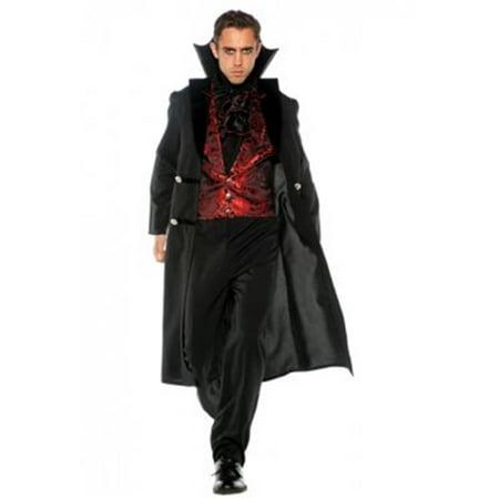 Mens Gothic Vampire Costume - Size 42-46 for $<!---->