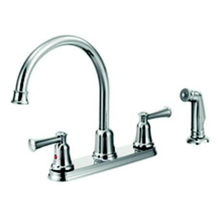 Cleveland Faucets Ca41613 Capstone High Arc Spout Two Handle Kitchen
