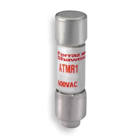 Ferraz Shawmut Amp-Trap 2000 ATMR1 General Purpose Non-Indicating Rejection-Style Time Delay Fuse, 1 A A, 600 VAC/DC V