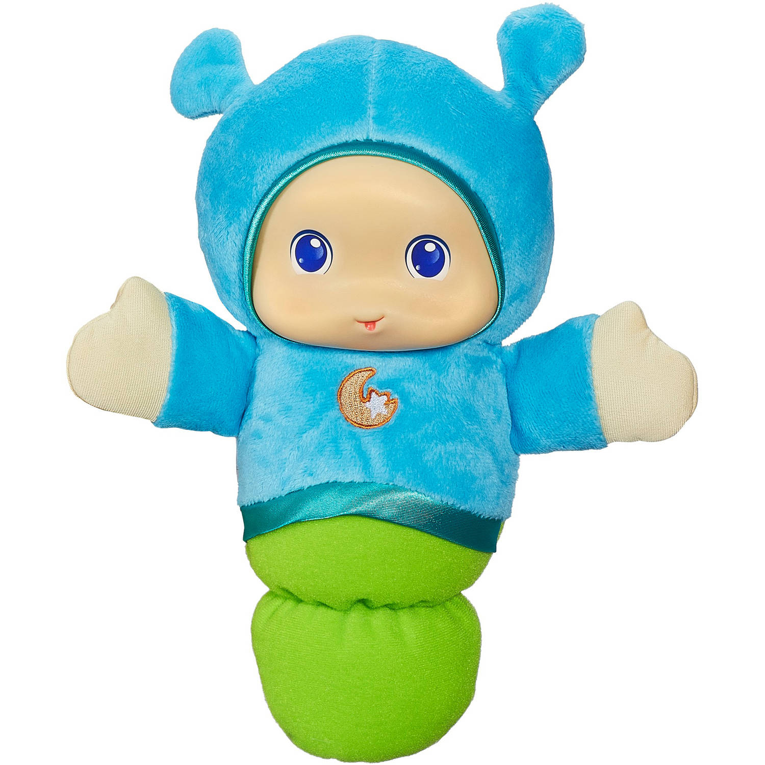 Playskool Play Favorites Lullaby Gloworm Toy, Blue