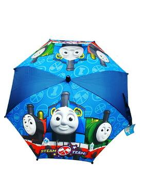 "Kids Thomas & Friends Kid Umbrella 3D Thomas the Tank Engine Figurine ""Steam Team"""