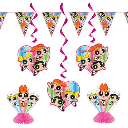 Powerpuff Girls Party Decorating Kit, 7pc - Party City Girl