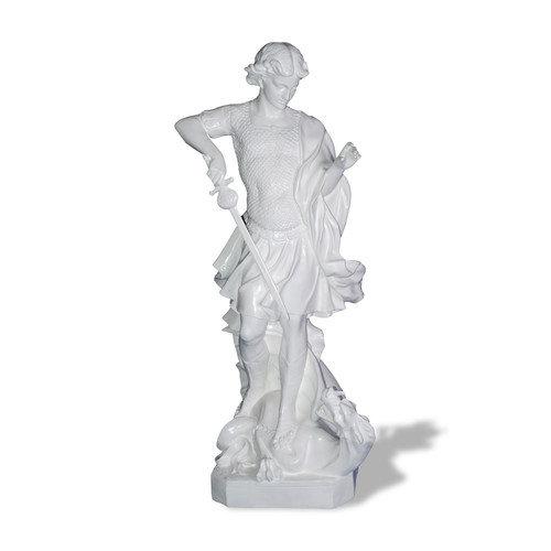 Amedeo Design Resin Stone Saint Michael Statue