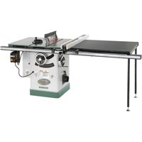 """Grizzly Industrial G0691 10"""" 3HP 220V Cabinet Table Saw with Long Rails & Riving Knife"""
