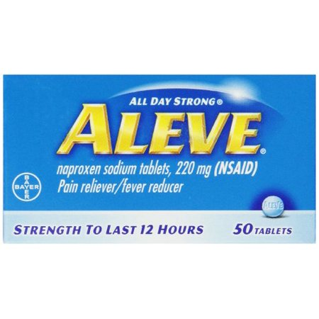 6 pack aleve all day pain relief amp fever reducer tablets