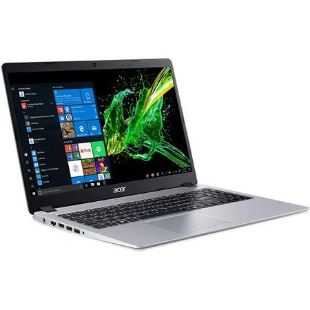"""Acer Aspire 5 15.6"""" FHD PC Laptop, AMDRyzen3 3200U, 4GB RAM, 128GB SSD, Windows 10, Silver, A515-43-R19L"""