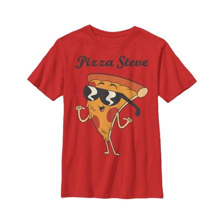 Uncle Grandpa Boys' Pizza Steve Portrait T-Shirt