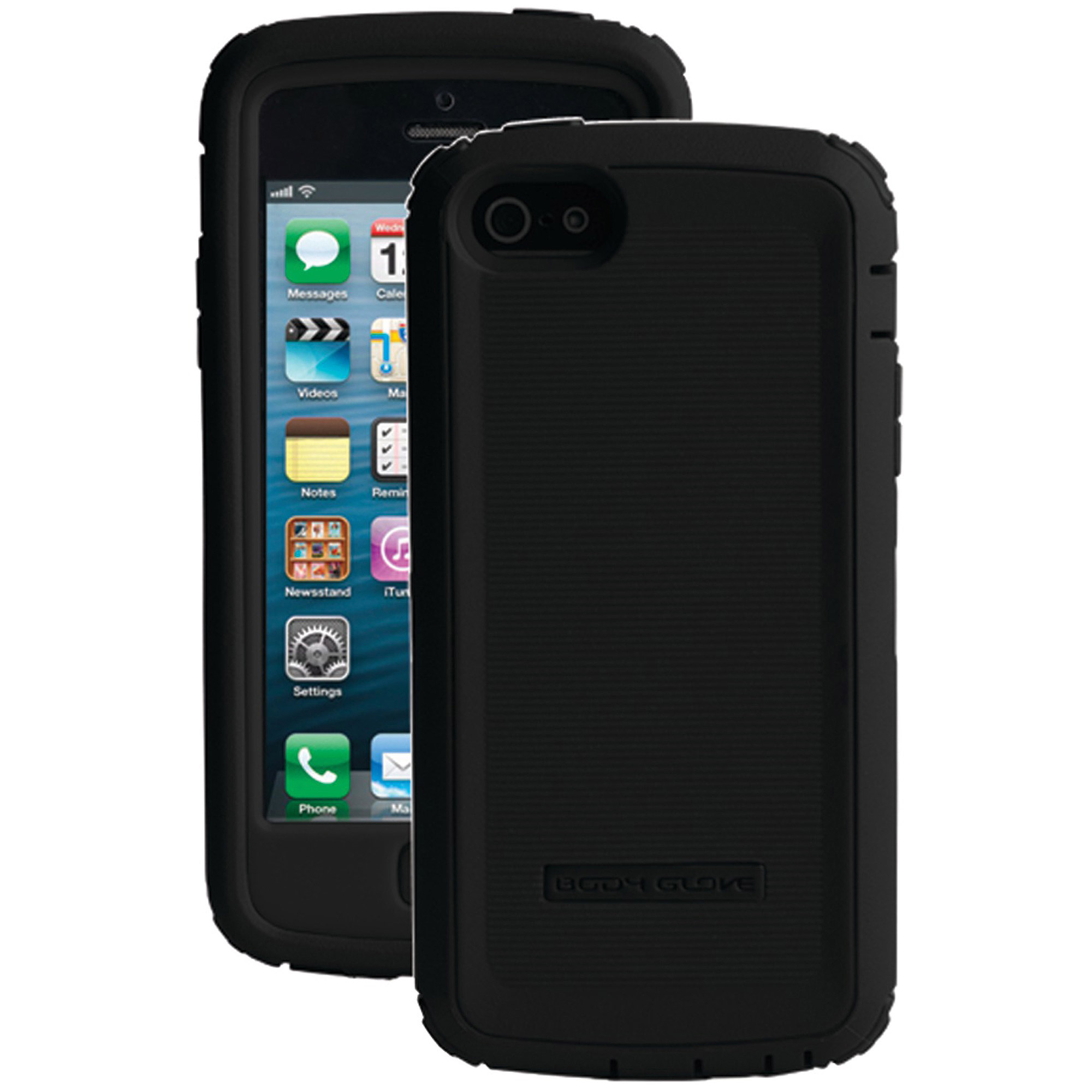 BODY GLOVE 9302103 iPhone(R) 5/5s Toughsuit Case with Holster (Black)